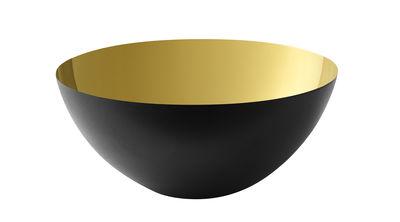 Bol Krenit / Ø 16 x H 7,1 cm - Acier - Normann Copenhagen noir,or en métal
