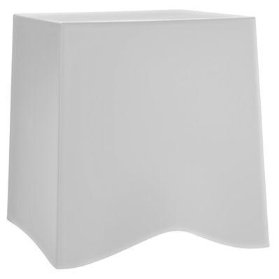 Foto Sgabello impilabile Briq di Koziol - Bianco - Materiale plastico
