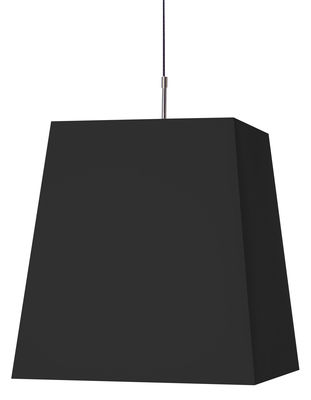 Suspension Square Light - Moooi noir en tissu
