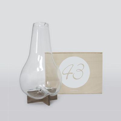 Coffret Designerbox#43 / Carafe 1L - Vanessa Mitrani - Designerbox transparent,bois naturel en verre