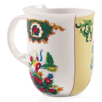 Mug Hybrid - Anastasia - Seletti multicolore en céramique