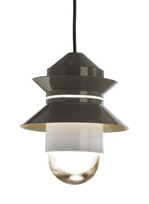 Lampe Santorini / Baladeuse à suspendre - Marset gris en verre