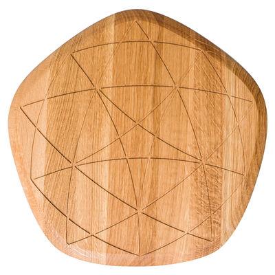 Cuisine - Ustensiles de cuisines - Planche à découper Étoile / Chêne - Petite Friture - Chêne - Chêne huilé