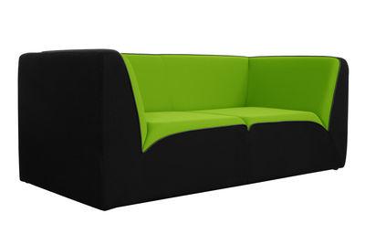 Canap droit e motion by ora ito 3 places l 189 cm noir vert anis pas - Canape dunlopillo ora ito ...