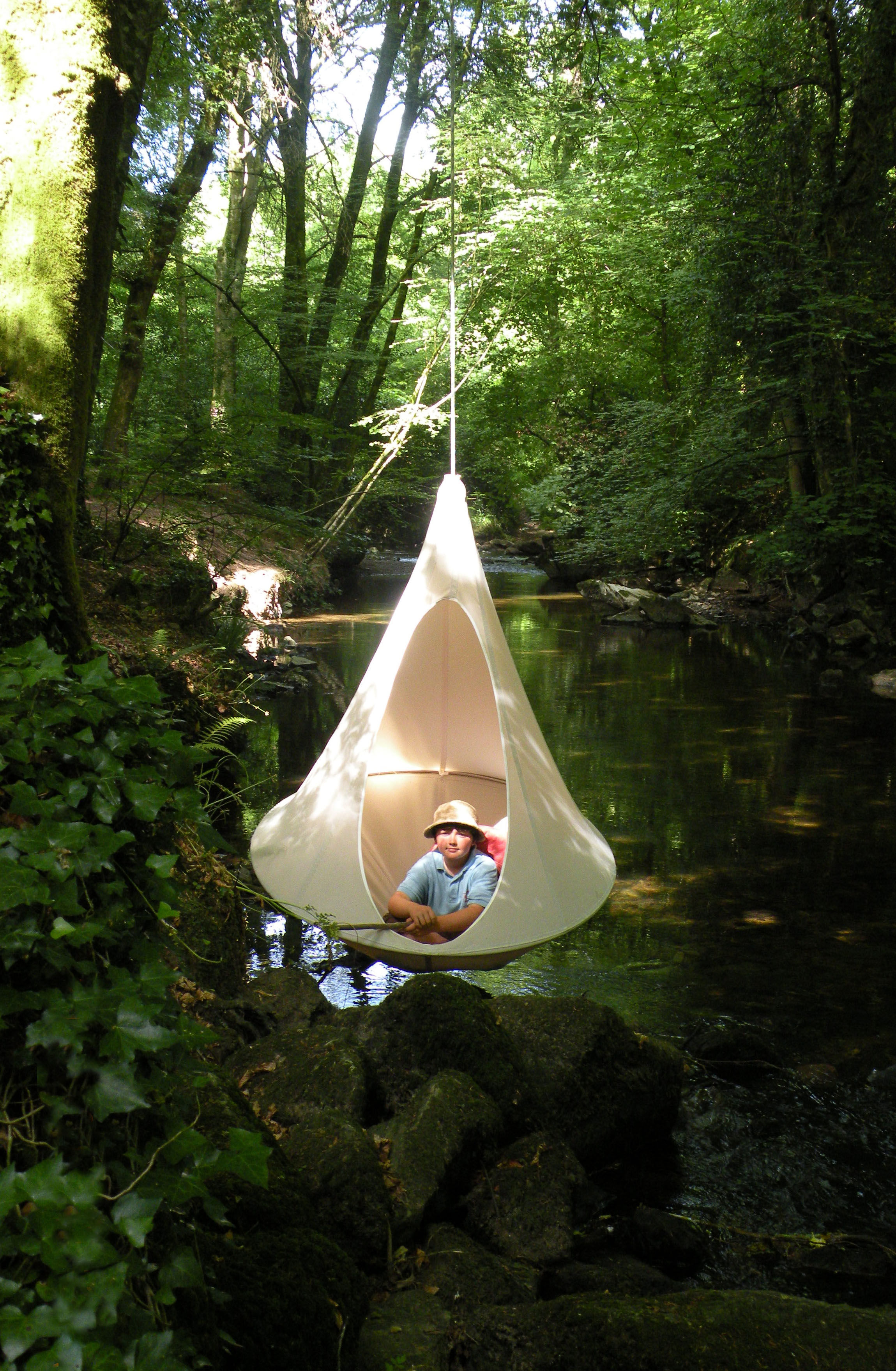 Zelt Zum Sitzen : Zum aufhängen sitzer cacoon zelt