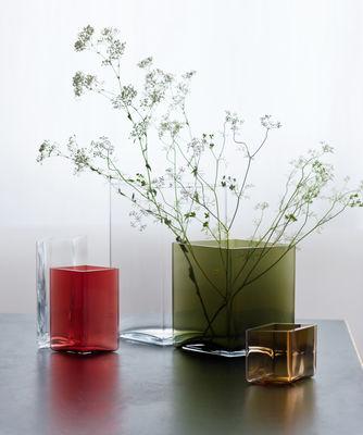 Ruutu Vase By Ronan Erwan Bouroullec 205 X 27 Cm Cristal By