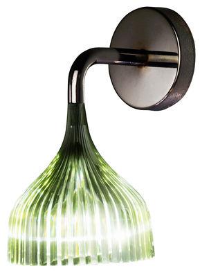 Foto Applique E' di Kartell - Verde - Materiale plastico