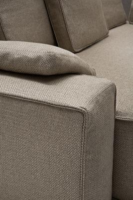 canap d 39 angle wow sofa 289 x 230 cm beige driade. Black Bedroom Furniture Sets. Home Design Ideas