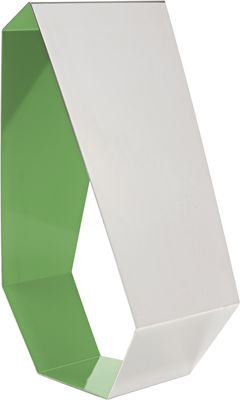 Mobilier - Miroirs - Miroir Milord / à poser - H 46 cm - Made in design Editions - Vert flashy - Acier