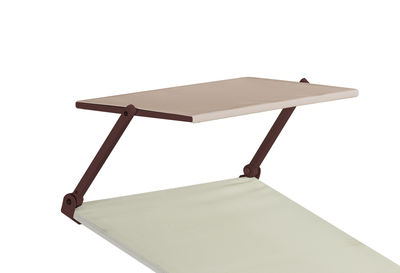Image of Parasole - per sedia a sdraio Holly di Emu - Bronzo,Beige - Tessuto