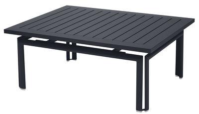 Table basse Costa / Aluminium - 100 x 80 cm - Fermob carbone en métal