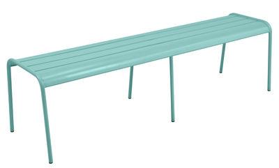 Banc Monceau XL / L 160 cm - 3 à 4 places - Fermob bleu lagune en métal