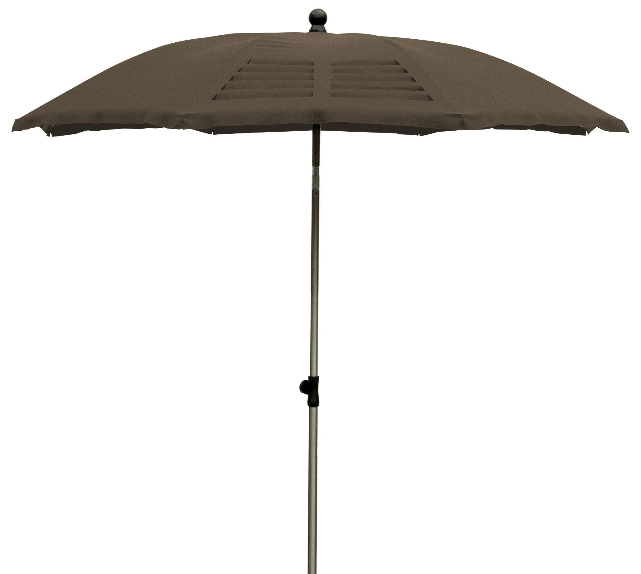 parasol mariline 190 cm 4 pans avec d coupes laser. Black Bedroom Furniture Sets. Home Design Ideas