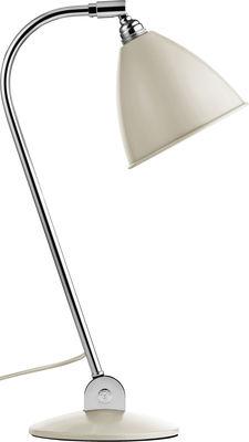 Foto Lampada da tavolo Bestlite BL2 / Riedizione del 1930 - Gubi - Bestlite - Crema - Metallo
