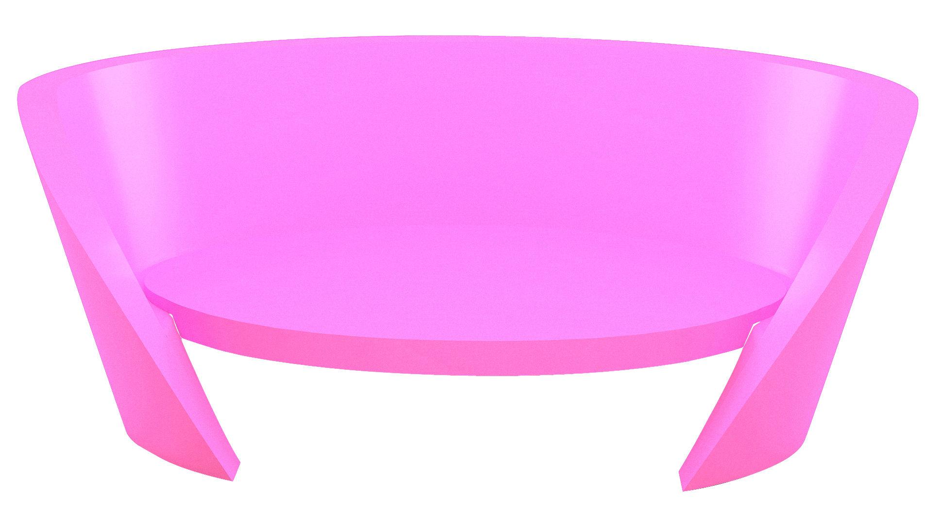 canap rap l 170 cm fuchsia slide. Black Bedroom Furniture Sets. Home Design Ideas