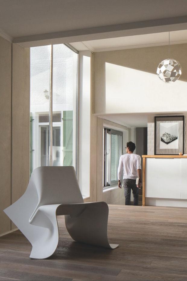 fauteuil fold chair fibre de verre blanc sp cimen editions. Black Bedroom Furniture Sets. Home Design Ideas