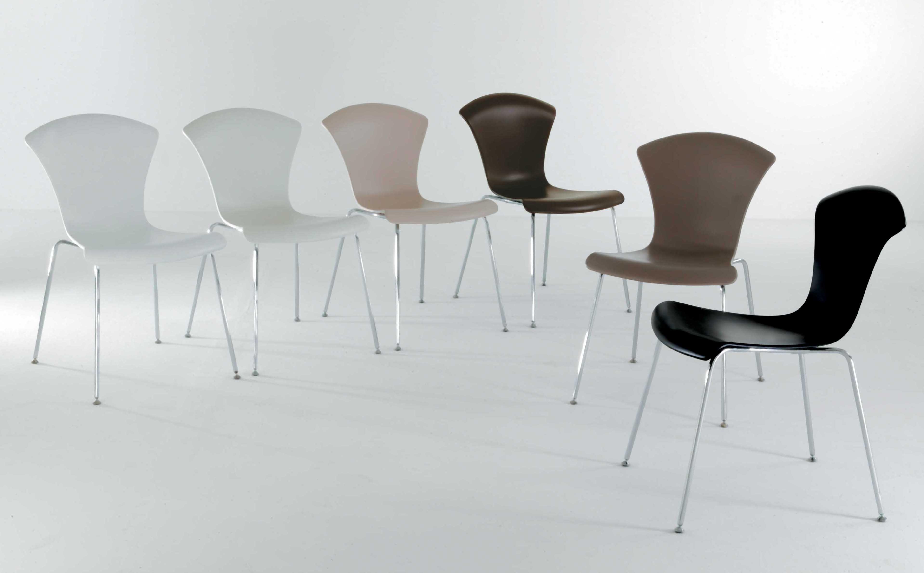 Arredo Ufficio Kartell : Scopri sedia impilabile nihau blu di kartell made in design italia