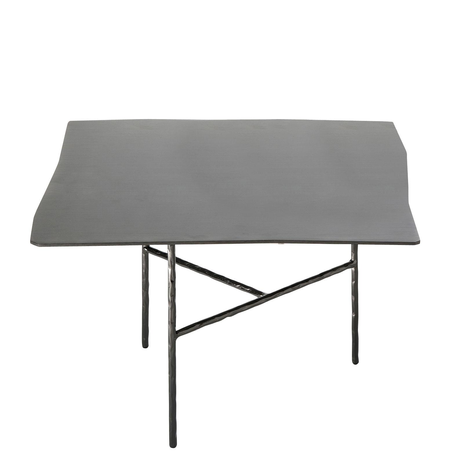 50 X 50 Square Coffee Table: / 52 X 50 X H 33 Cm Black By
