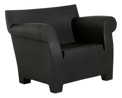Poltrona Bubble Club di Kartell - Nero - Materiale plastico