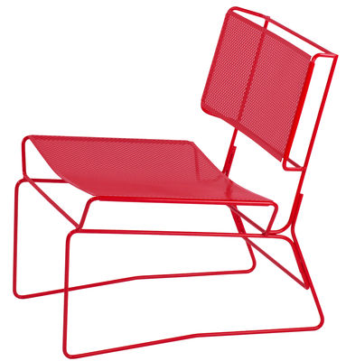 Fil Lounge Sessel - AA-New Design - Rot
