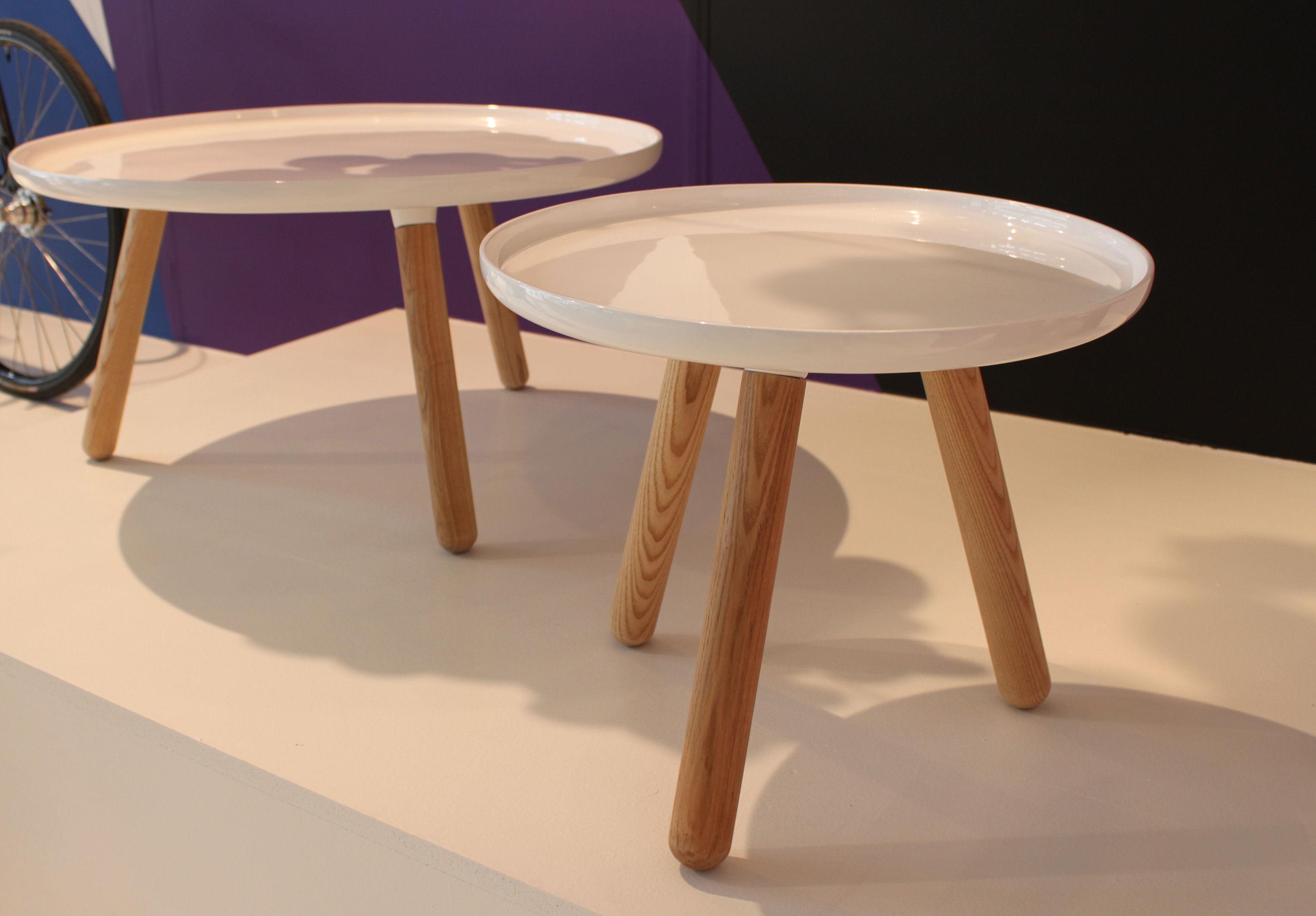 tablo small coffee table 50 cm white by normann copenhagen. Black Bedroom Furniture Sets. Home Design Ideas