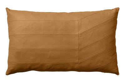Déco - Coussins - Coussin Coria / Cuir - 50 x 30 cm - AYTM - Ambre - Coton, Cuir