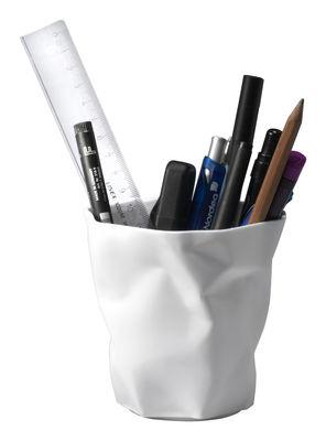 Déco - Salle de bains - Pot à crayons Pen Pen - Essey - Blanc - Polypropylène