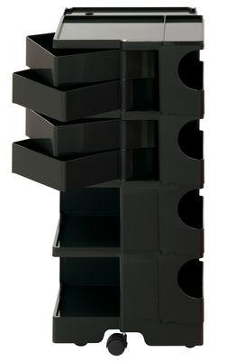 Desserte Boby / H 94 cm - 4 tiroirs - B-LINE noir en matière plastique