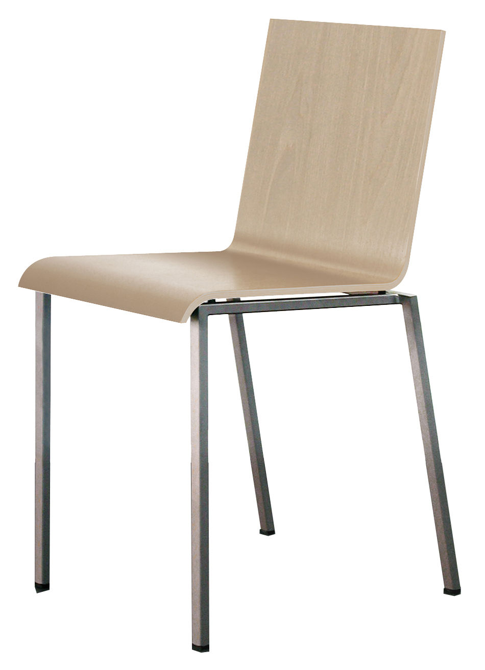 Bianca sedia versione legno rovere sbiancato by zeus - Sedia bianca legno ...