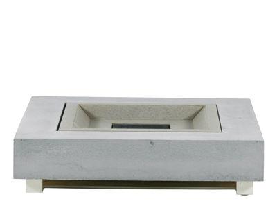 Pure couchtisch feuertisch beton 90 x 90 cm lounge for Table brasero exterieur