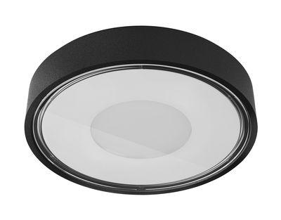Applique Box / Plafonnier - LED - Ø 11 cm - Panzeri noir en métal