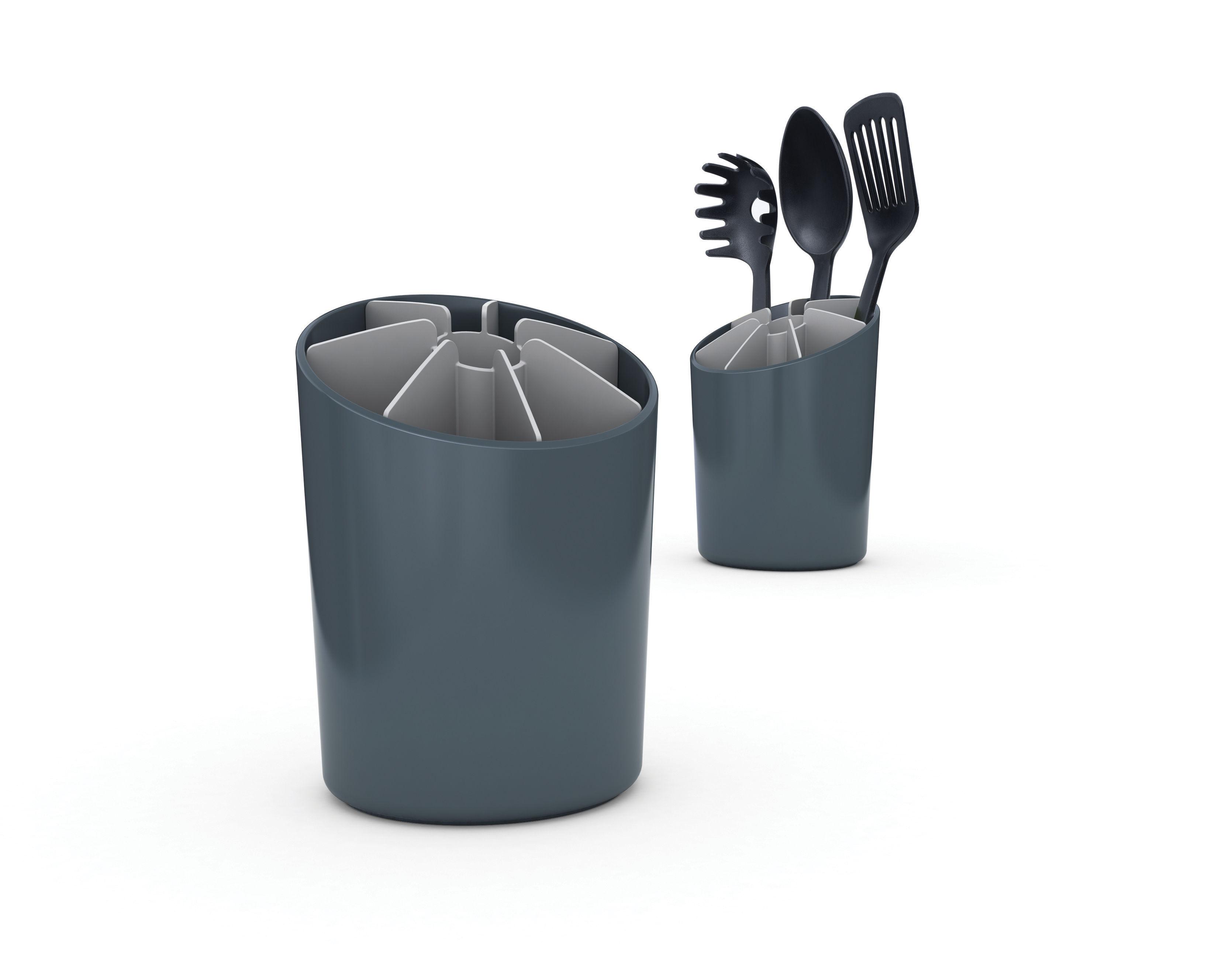 Pot ustensiles segment gris gris joseph joseph for Porta utensilios cocina