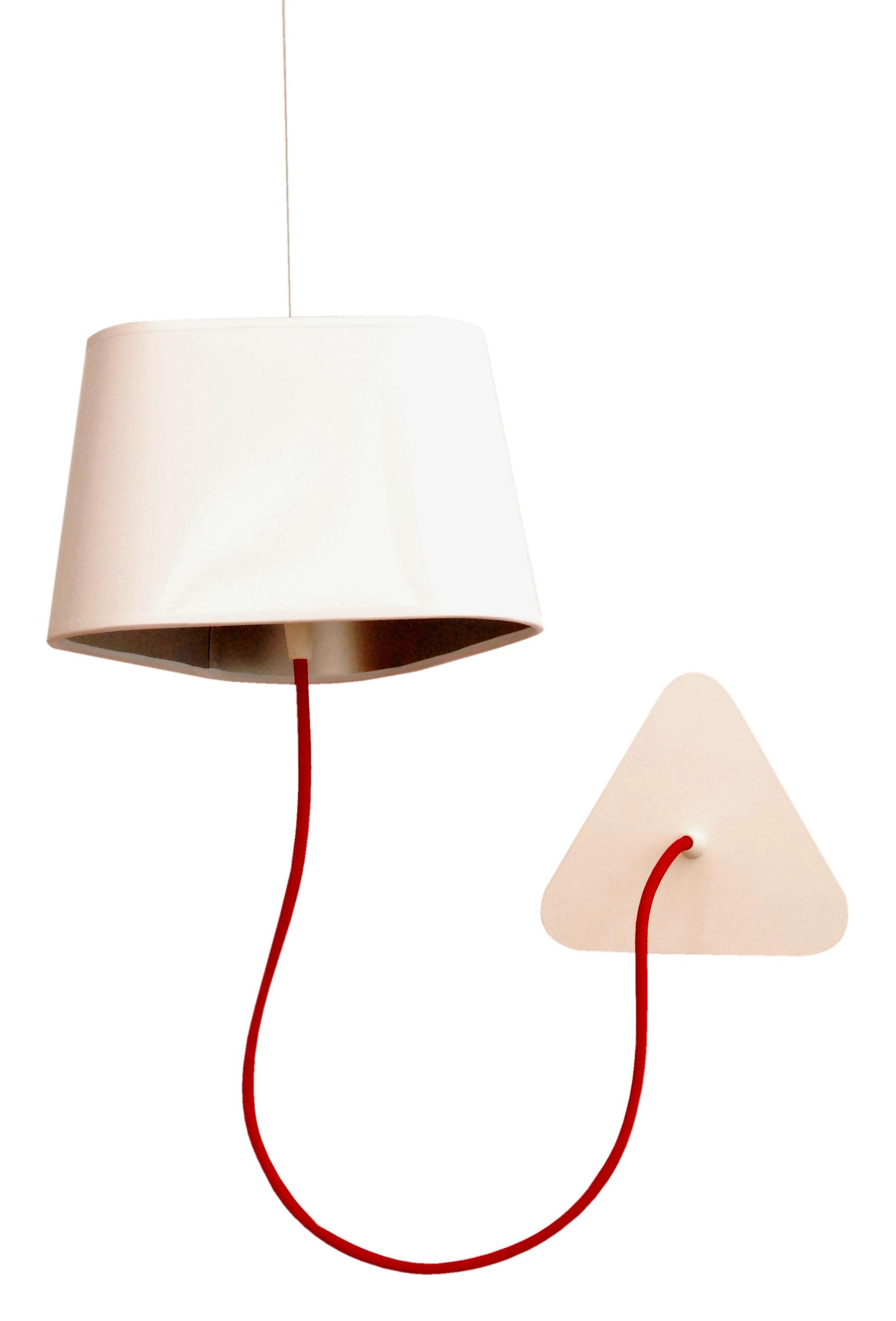 applique avec prise petit nuage l 24 cm fixation au plafond pvc blanc laqu int rieur. Black Bedroom Furniture Sets. Home Design Ideas