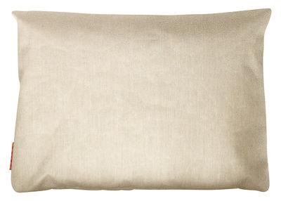 Foto Coussin d'extérieur Small - / Outdoor - 60 x 45 cm di Trimm Copenhagen - Beige variegato - Tessuto Cuscino per esterno