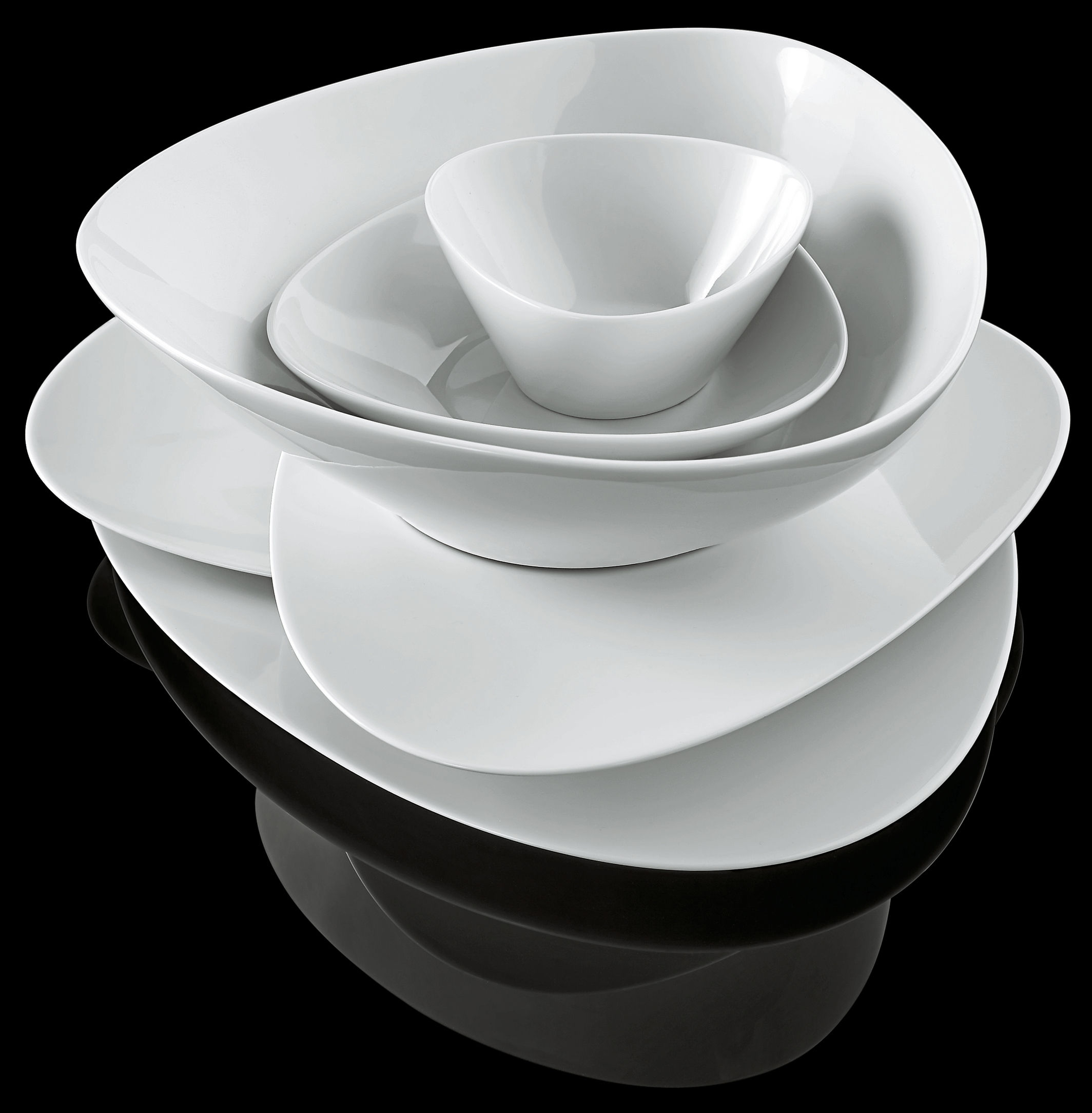 alessi colombina colombina collection table sets alessi fm web  - edbedebe colombina dessert plate white by alessi