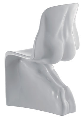 Foto Sedia Him - versione laccata di Casamania - Bianco - Materiale plastico