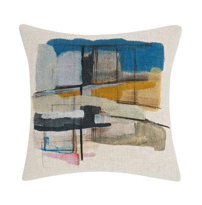 Coussin Paint / 45 × 45 cm - Edition limitée - Tom Dixon multicolore,beige en tissu