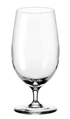 Verre à bière Ciao+ / 390 ml - Leonardo transparent en verre