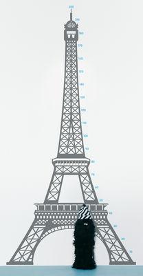 Image of Measuring souvenir from Paris Sticker Messlatte - Domestic - Grau