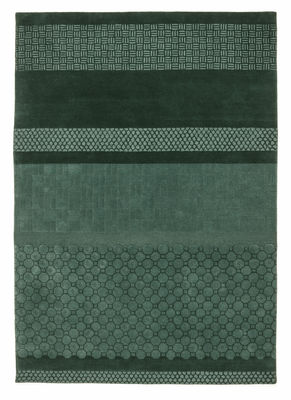 Tapis Jie / 200 x 300 cm - Nanimarquina vert céladon en tissu