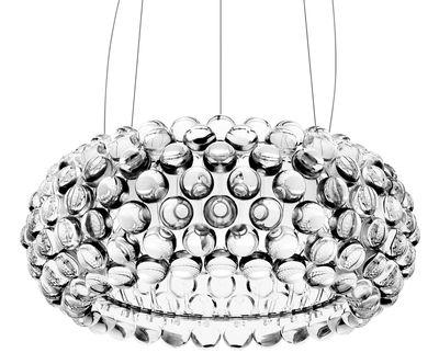 Lighting - Pendant Lighting - Caboche Media Pendant by Foscarini - Transparent - PMMA