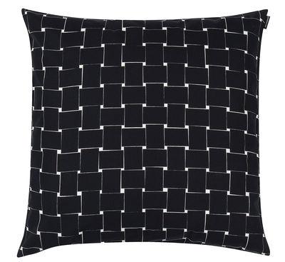 Déco - Coussins - Coussin Basket / 50 x 50 cm - Marimekko - Basket / Noir & blanc - Coton