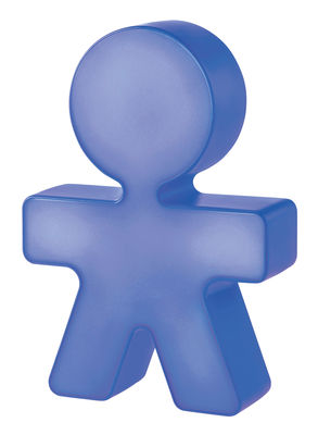 Veilleuse Girotondo / Veilleuse LED - H 20 cm - Alessi bleu en matière plastique