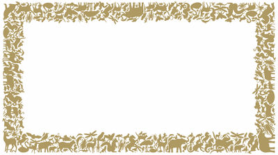 Dekoration - Stickers und Tapeten - Panthéon Rectangle Sticker - Domestic - Gold - Vinyl