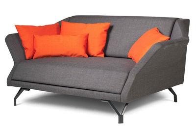 canap droit shogun 2 places l 156 cm gris skitsch. Black Bedroom Furniture Sets. Home Design Ideas