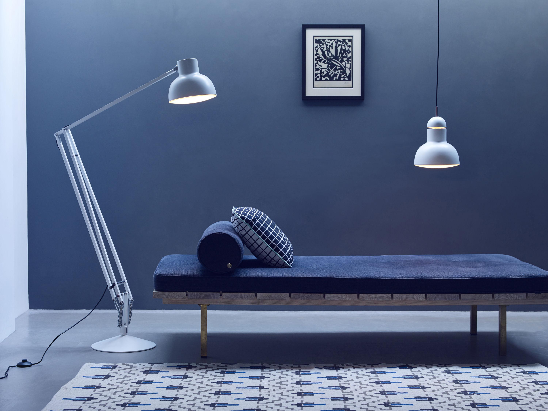 Suspension type 75 maxi 23 cm noir anglepoise - Luminaire industriel la giant collection par anglepoise ...