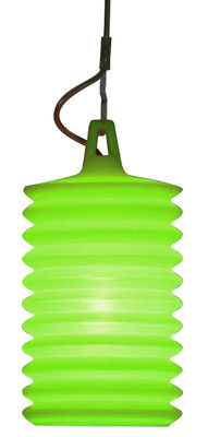 Lighting - Pendant Lighting - Lampion Pendant - Indoor use by Rotaliana - Green - Silicone