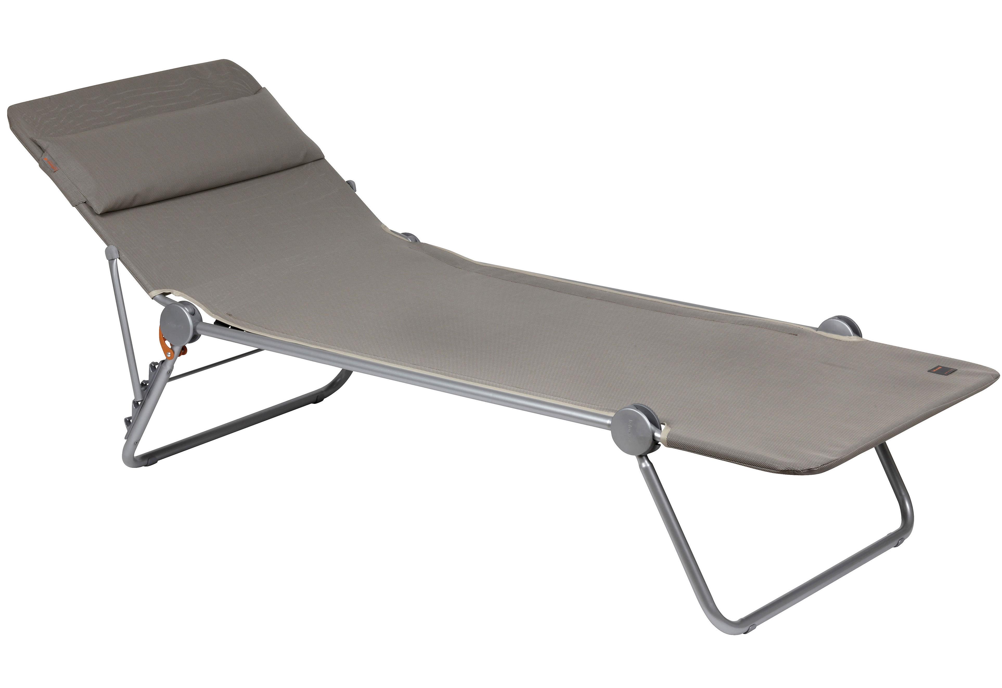 bain de soleil sunside plus inclinable et pliable bouleau. Black Bedroom Furniture Sets. Home Design Ideas