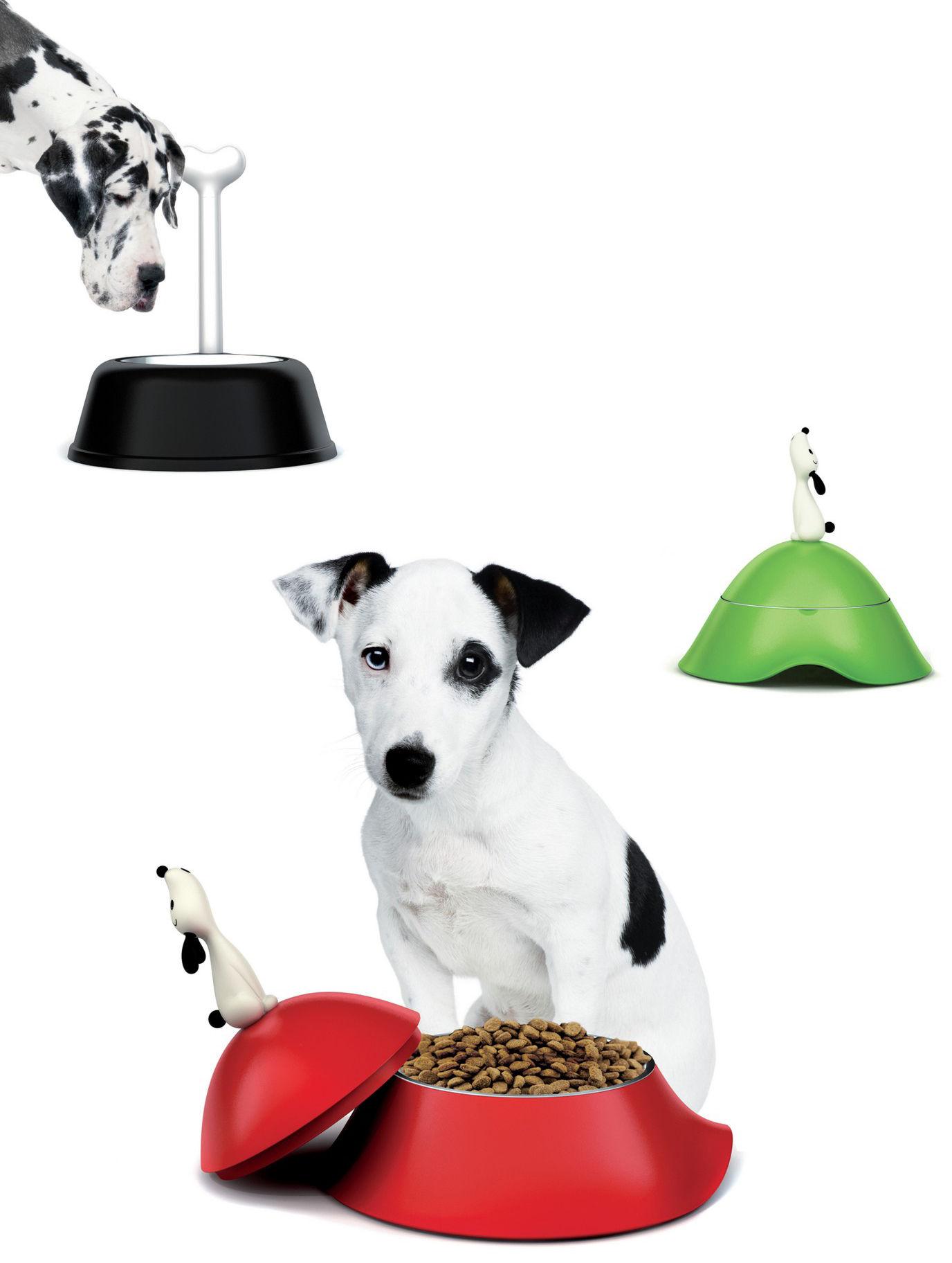 Gamelle lul pour chien noir a di alessi - Porte gamelle chien design ...