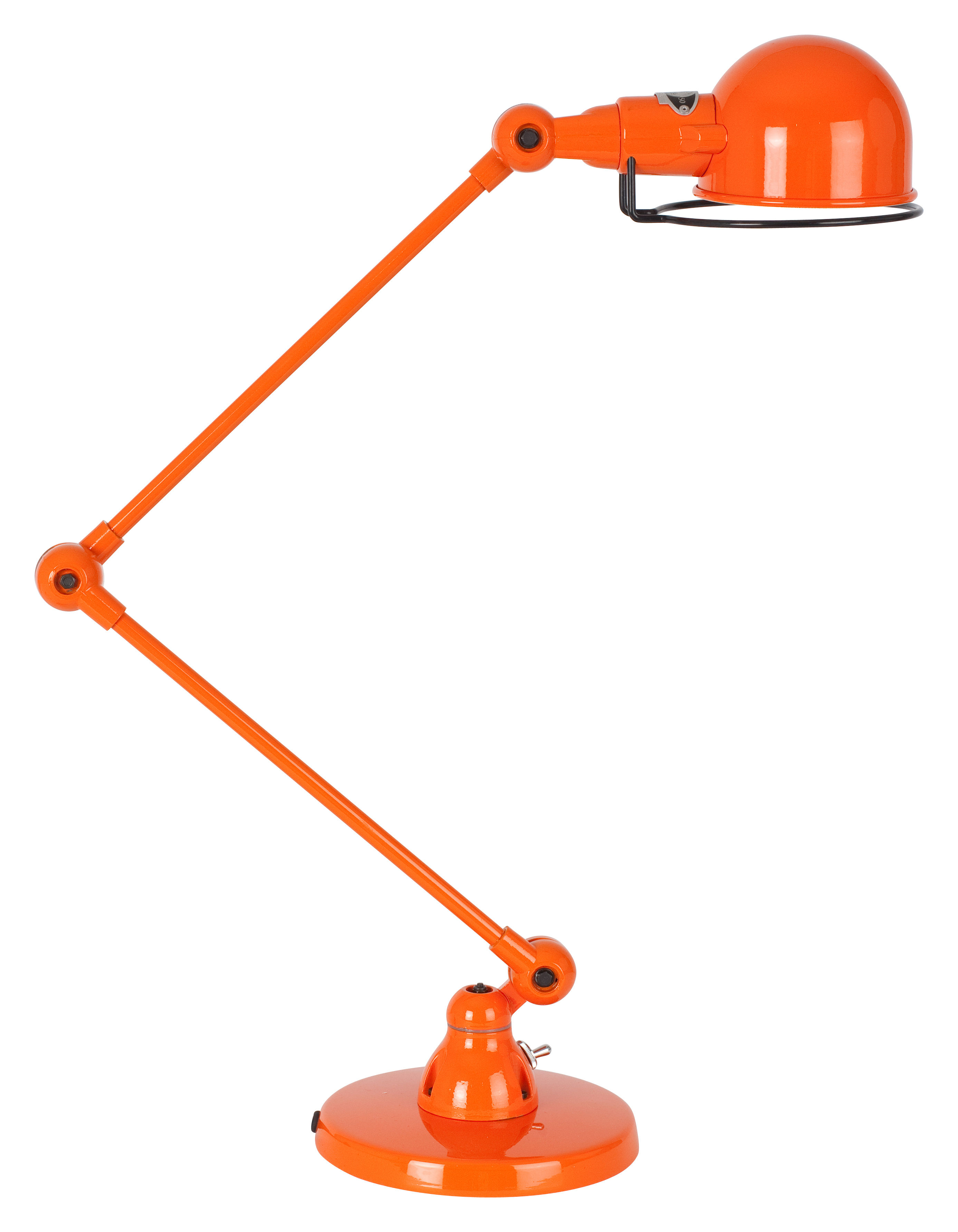 Signal Table Lamp 2 Arms H Max 60 Cm Orange By Jield 233